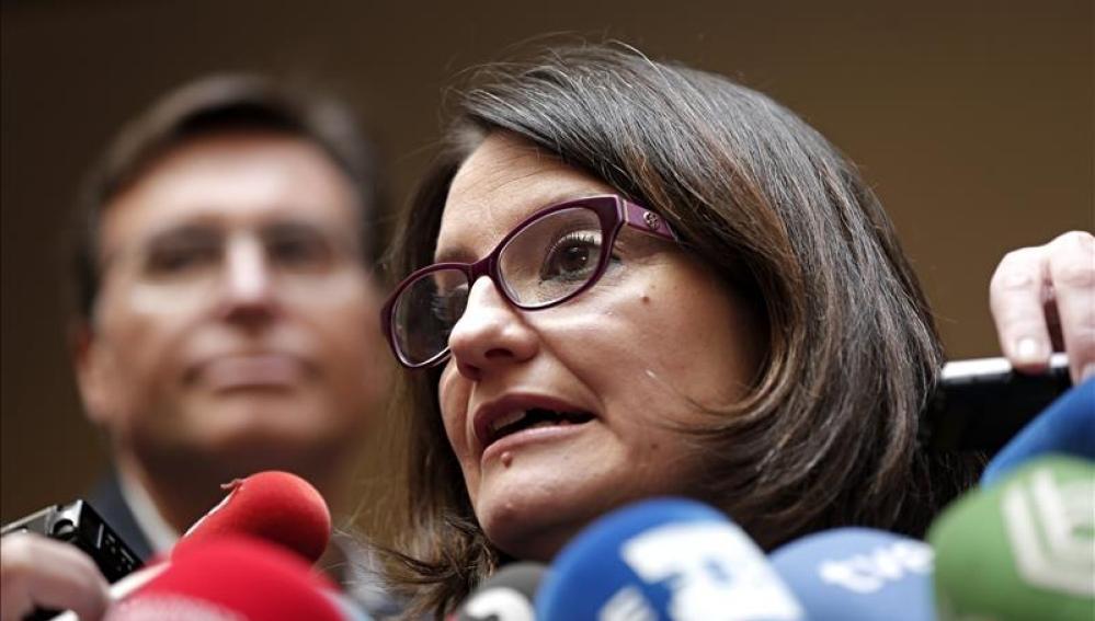 Mónica Oltra, portavoz de Compromís