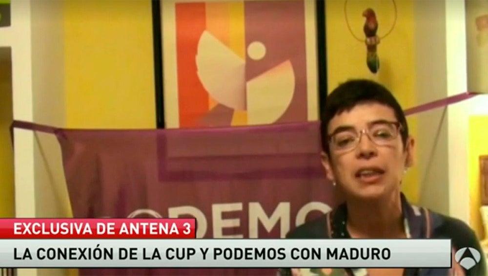 María José Aguilar, miembro de Podemos en Castilla-La Mancha