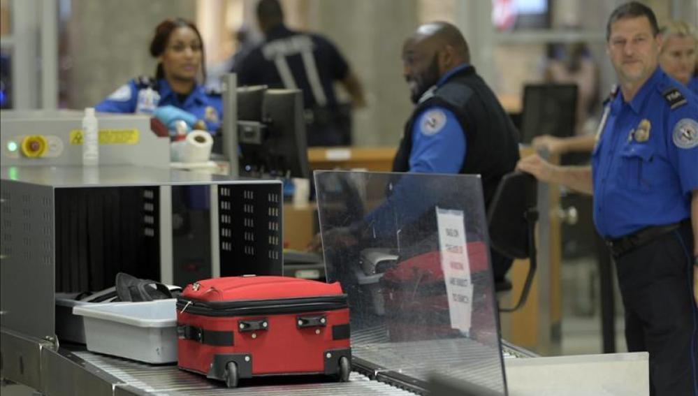 Controles en los aeropuertos estadounidenses