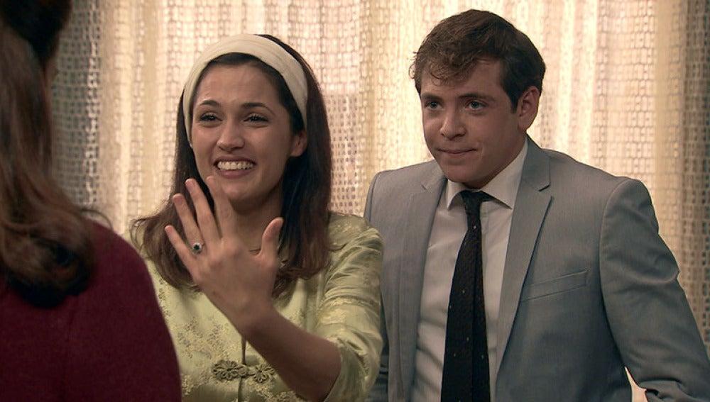 Sofía acepta la propuesta de matrimonio de Guillermo