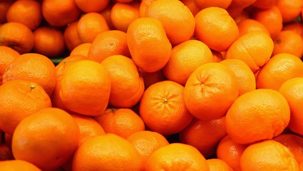 Cargamento de naranjas