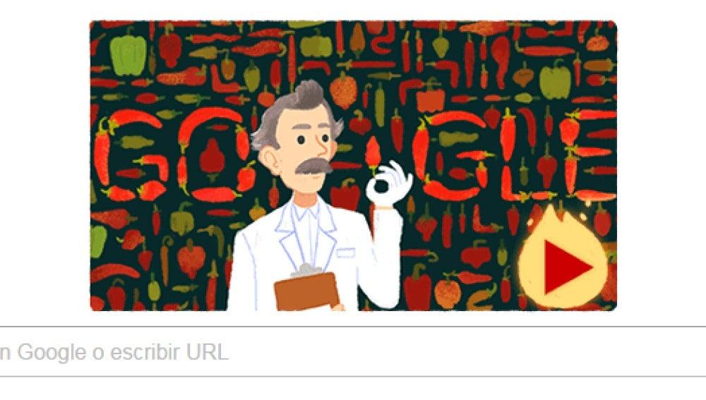 Nuevo doodle de Google
