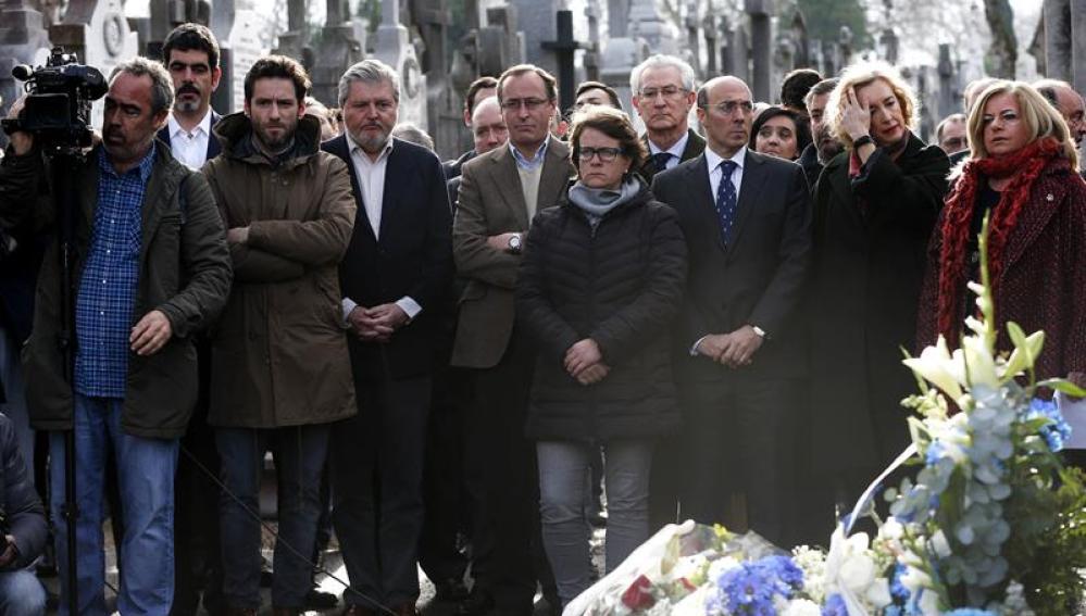 Homenaje al expresidente del PP de Gipuzkoa, Gregorio Ordóñez