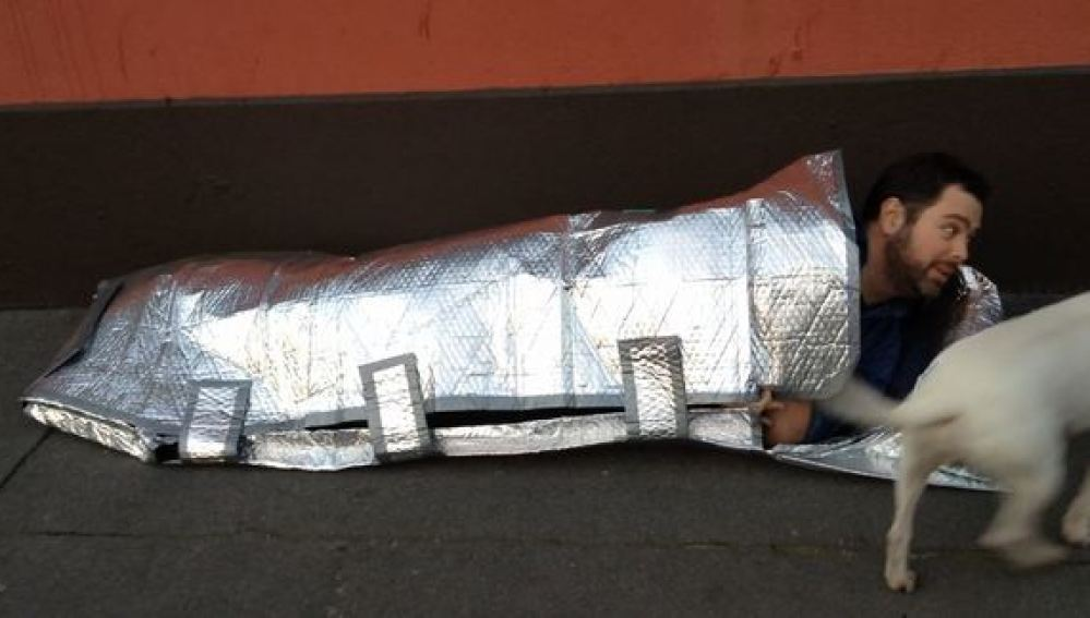 Saco de dormir ignífugo e impermeable