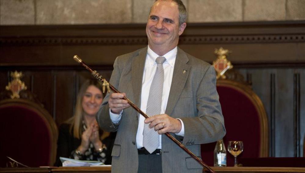 El alcalde de Girona, Albert Ballesta