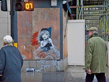 Graffiti de Banksy en Londres