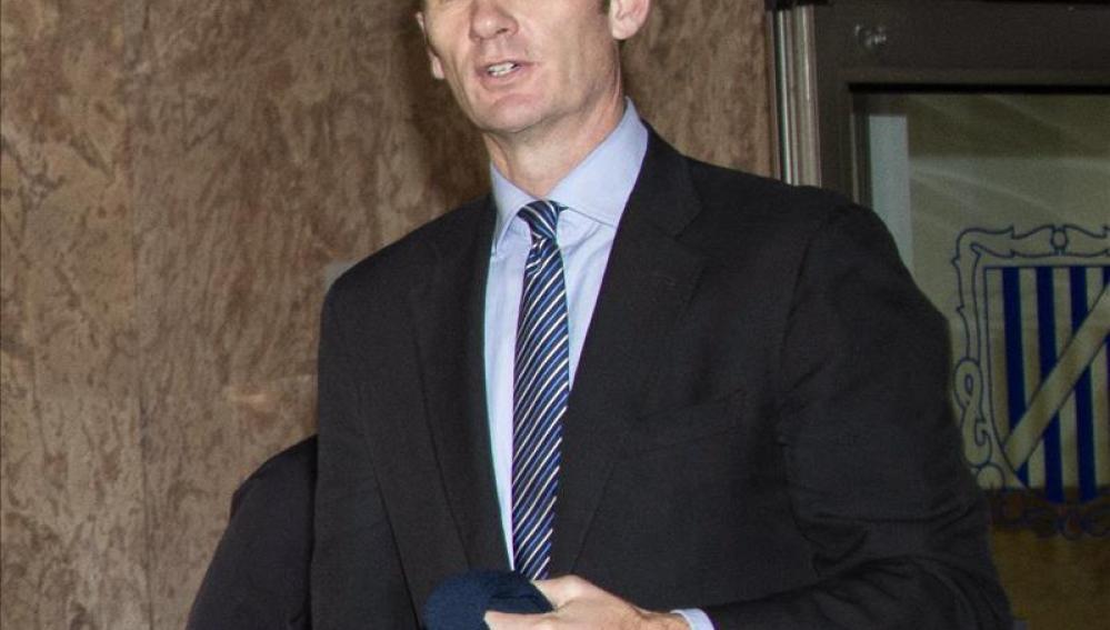 El ex duque de Palma, Iñaki Urdangarín