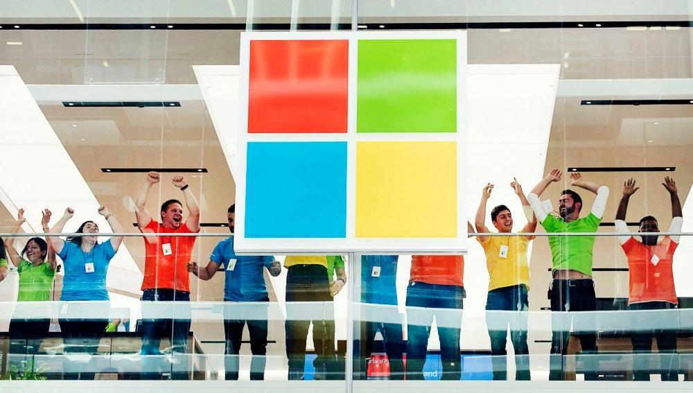Empleados de Microsoft