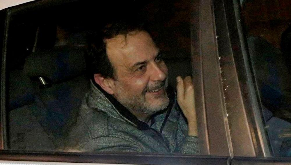 Vicente Burgos, uno de los detenidos en la Operación Taula