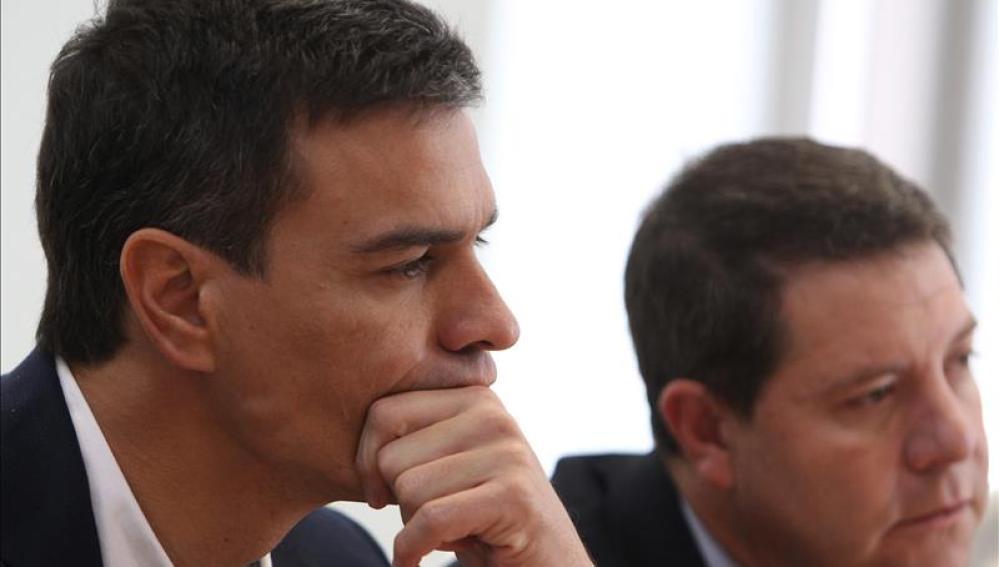 Pedro Sánchez y Emiliano García-Page