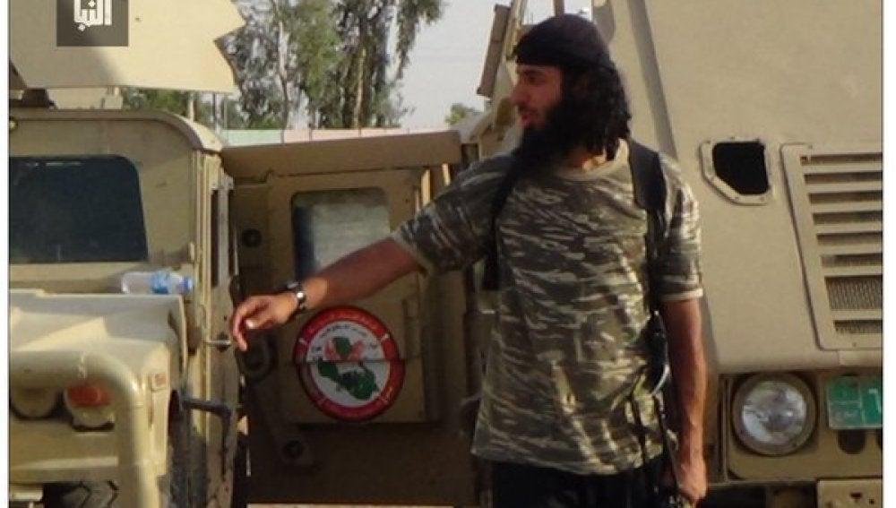 Imagen de 'John, el yihadista' a cara descubierta