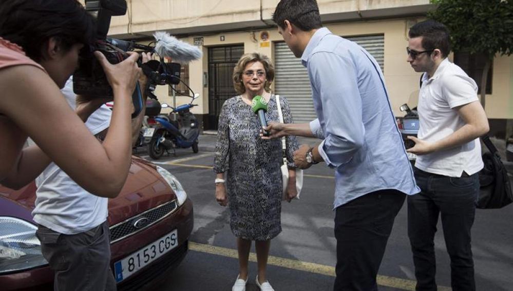La exconcejal valenciana, María José Alcón