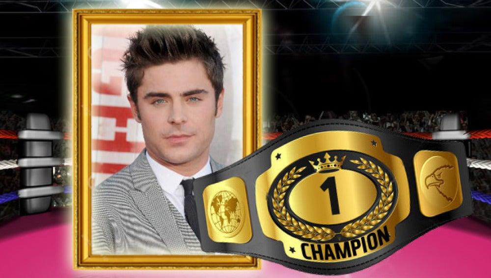 Zac Efron gana la batalla celebrity de la semana