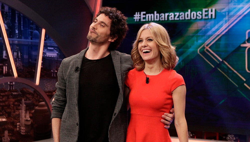 Pacó León y Alexandra Jiménez en 'El Hormiguero 3.0'