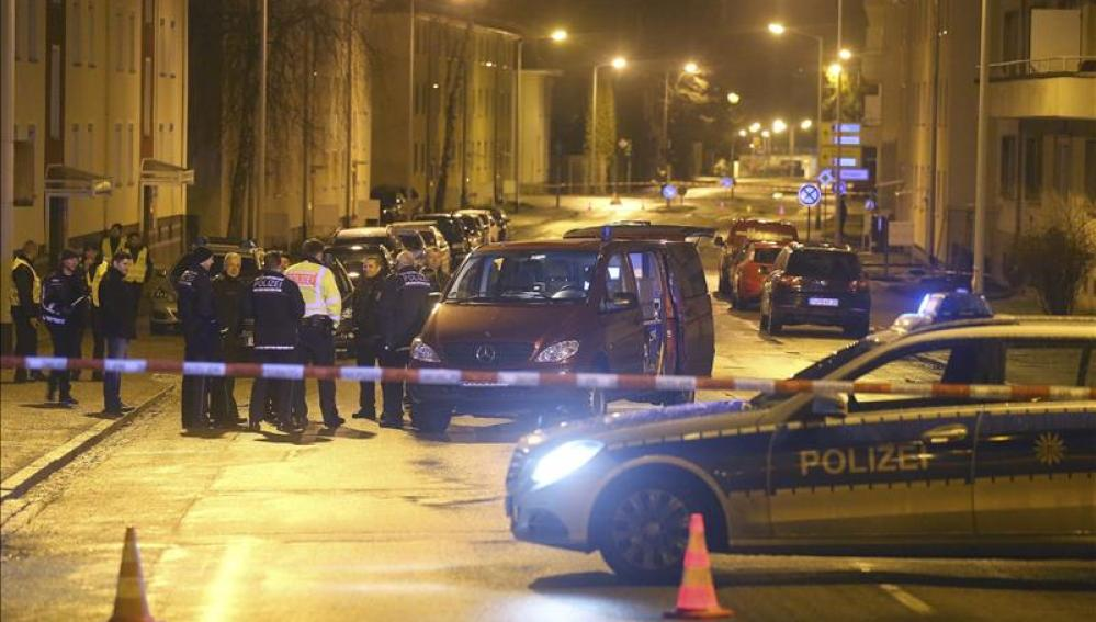 La Policía detonó la granada de manera controlada
