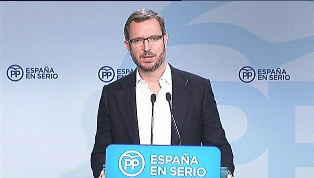 """Maroto ve a Sánchez en un """"laberinto sin salida, enfrentando a la militancia con la dirección"""""""