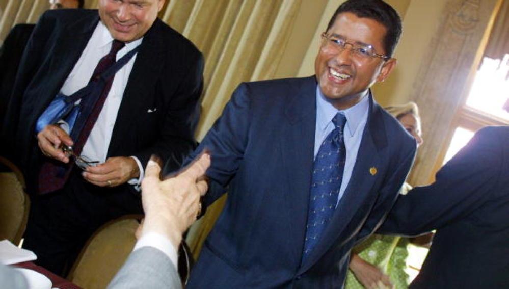 Francisco Flores, el expresidente de El Salvador