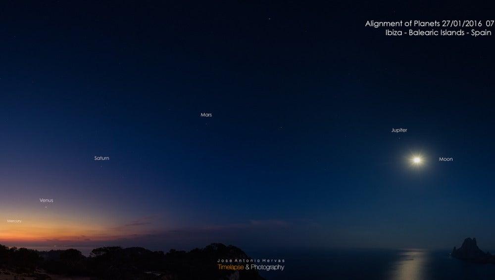 La NASA elige una foto de Ibiza como 'imagen del día'