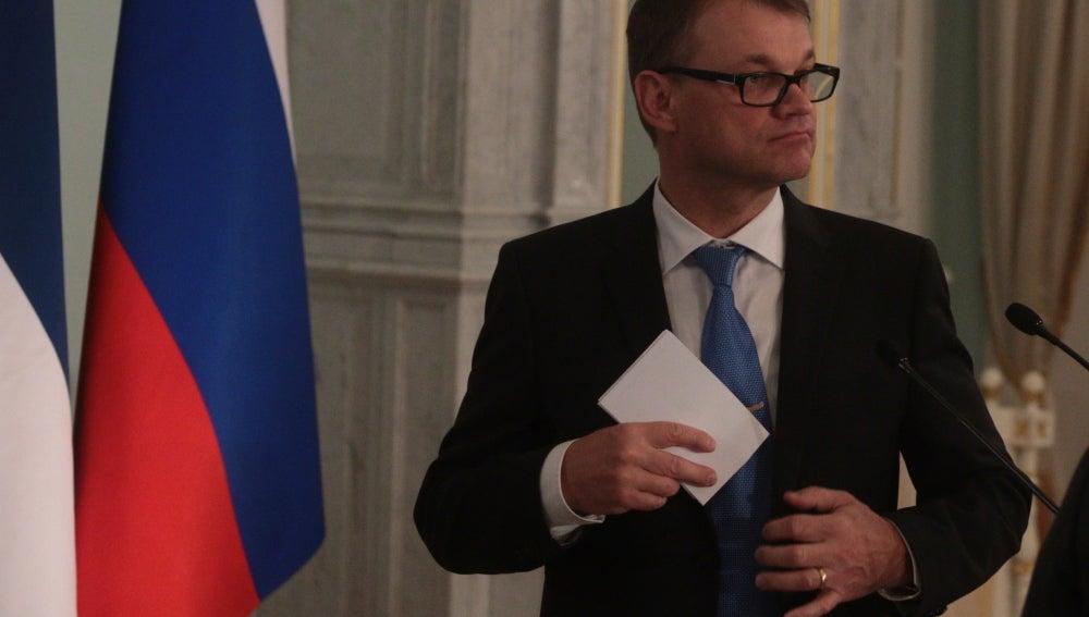 El primer ministro finlandés, Juha Sipila