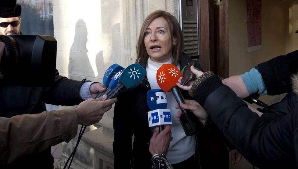 La exalcaldesa de Jerez, Pilar Sánchez