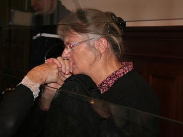 Jacqueline Sauvage durante el juicio