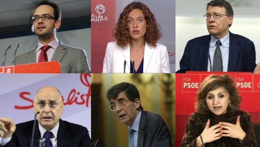 Equipo negociador del PSOE