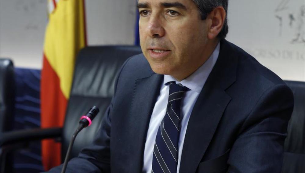 El portavoz de Democràcia i Llibertat, Francesc Homs
