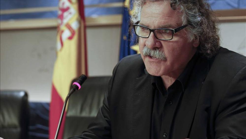 Joan Tardà, portavoz de ERC