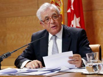 El consejero de Sanidad de la Comunidad de Madrid, Jesús Sánchez Martos