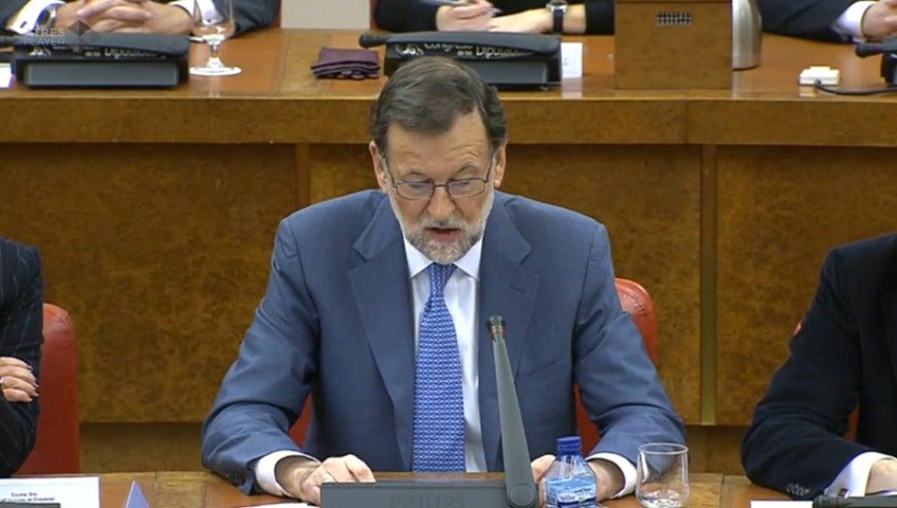 Comparecencia de Mariano Rajoy