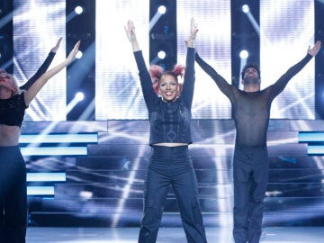 Lorena Castell imita a Janet Jackson