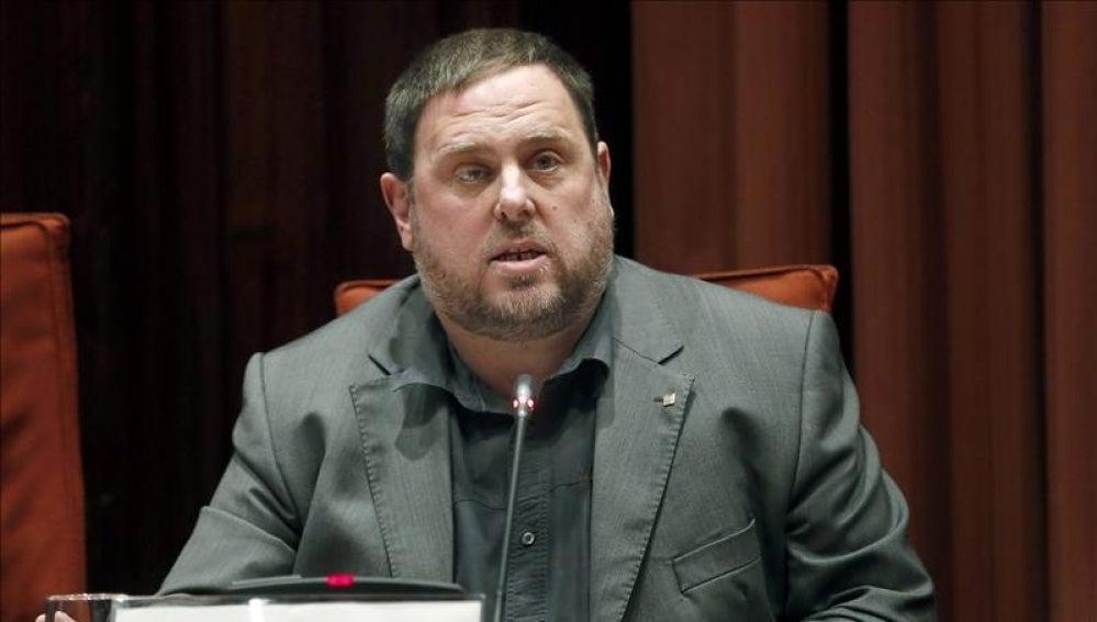El vicepresidente y conseller de Economía y Hacienda de la Generalitat, Oriol Junqueras