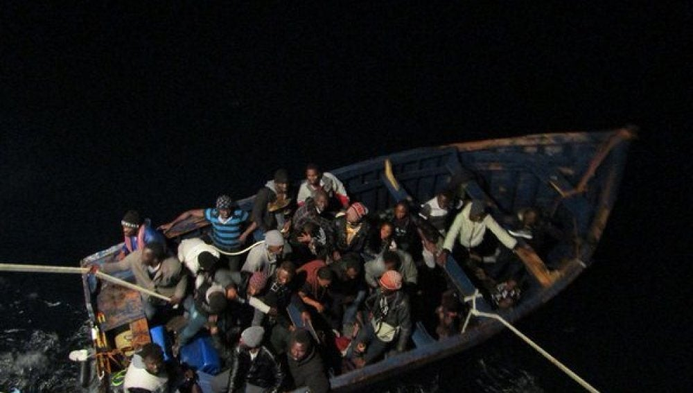 En la embarcación viajaban seis posibles menores