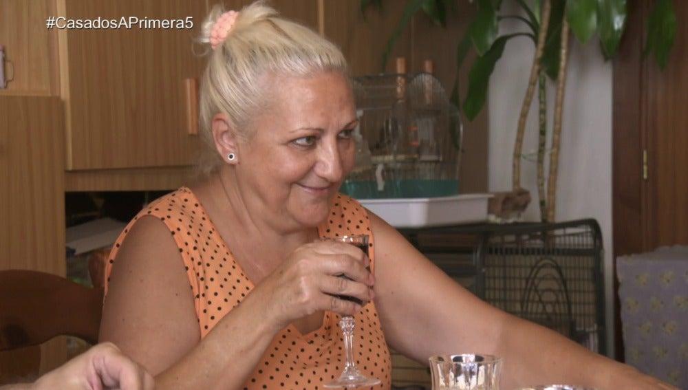 """""""Con dos copazos de vino tene mucho peligro"""""""