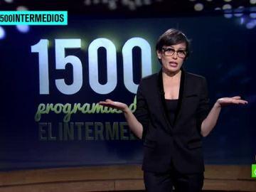 Thais Villas, en los 1.500 programas de El Intermedio