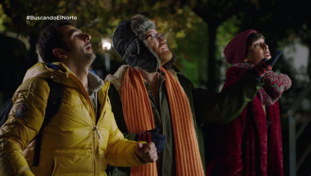 Alex, Carol y Salva se cuelan en la residencia para darle jamón a Nines