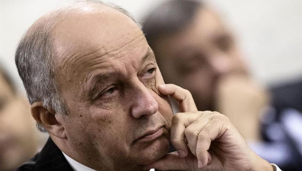 Laurent Fabius, Ministro de Exteriores francés