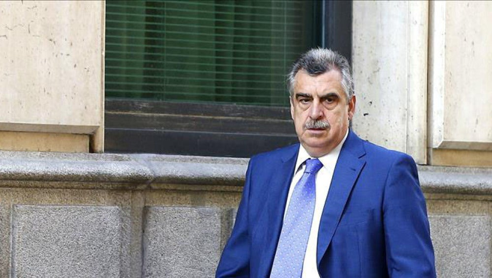 El juez Ismael Moreno a su llegada a la Audiencia Nacional