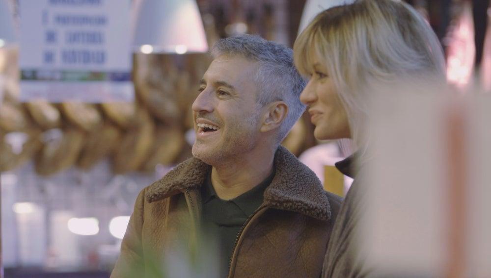 Sergio y Susanna visitan un mercado