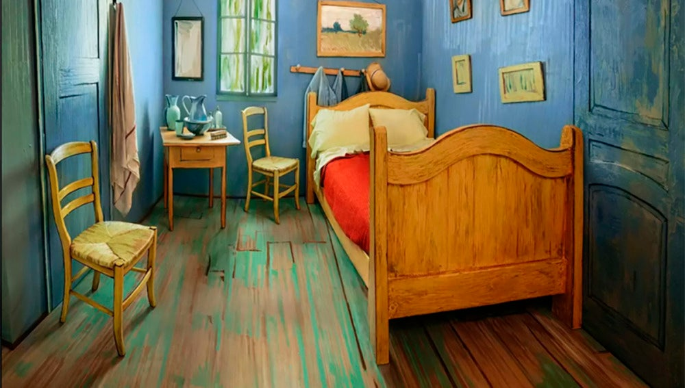 La habitación de la 'casa amarilla' de Van Gogh puesta en alquiler