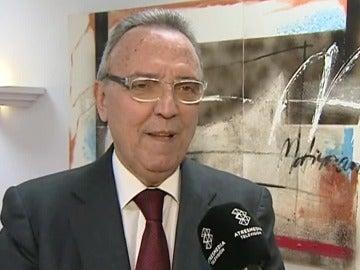 Joan Gaspart atentiendo a Atresmedia