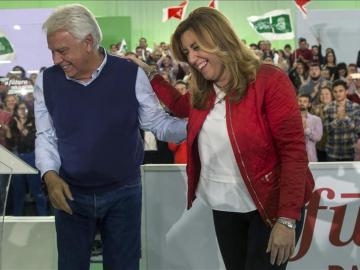 Felipe González y Susana Díaz