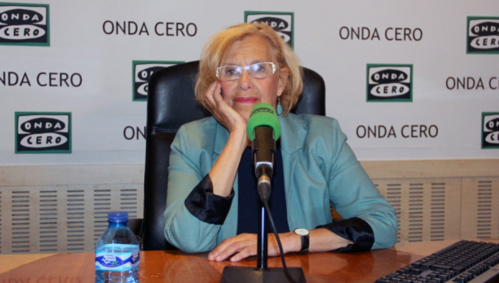 Manuela Carmena en Onda Cero