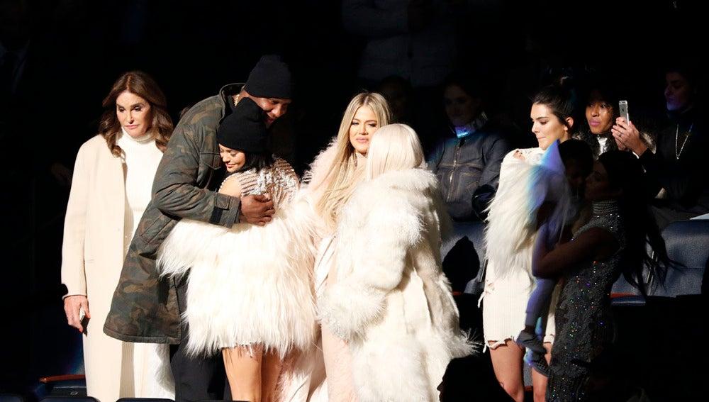 Lamar Odom estuvo junto al clan Kardashian