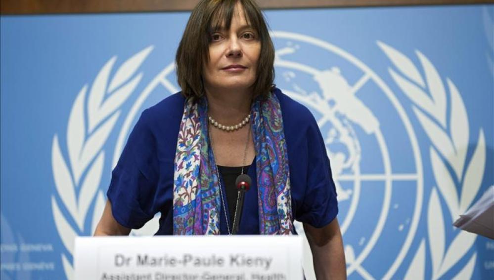 La directora adjunta de Sistemas Sanitarios e Innovación de la Organización Mundial de la Salud, Marie-Paule Kieny