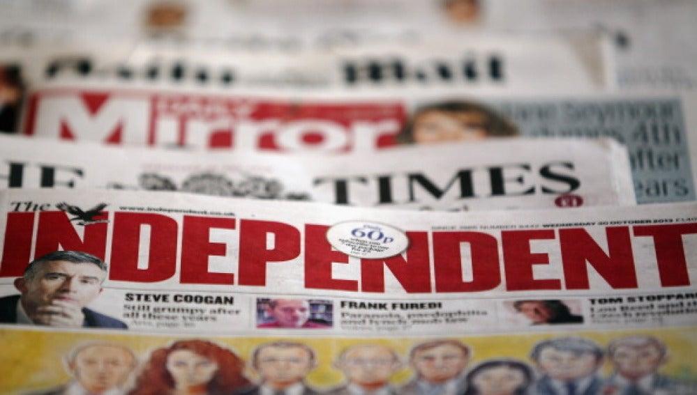 El diario británico The Independent