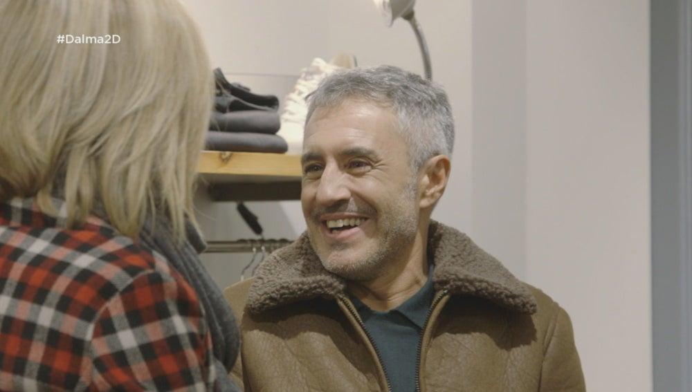 Sergio Dalma se ríe con Susanna Griso