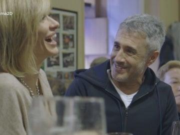 Susanna Griso charla con Sergio Dalma