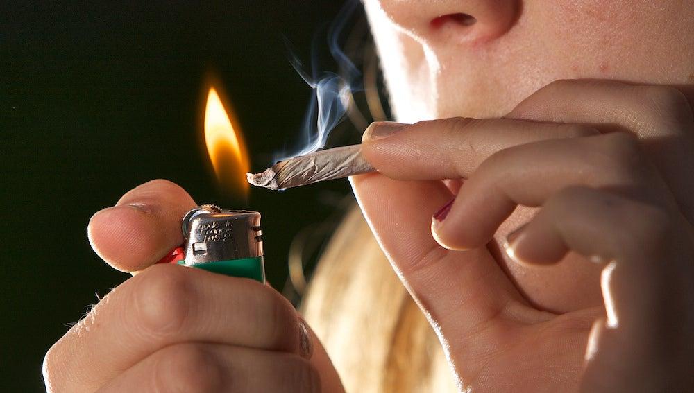 Estudio sobre el consumo de marihuana
