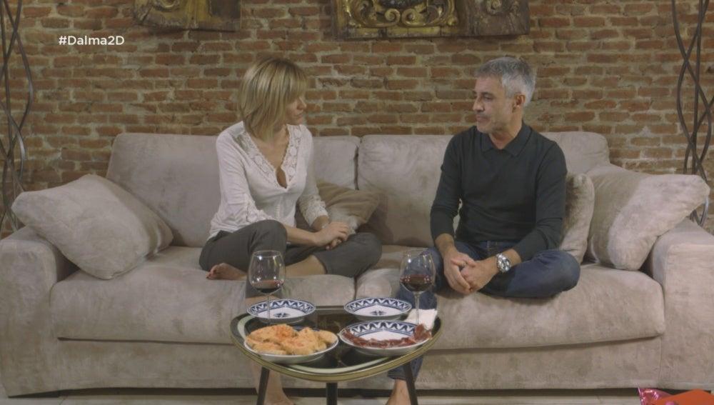Susanna Griso conversa con Sergio Dalma